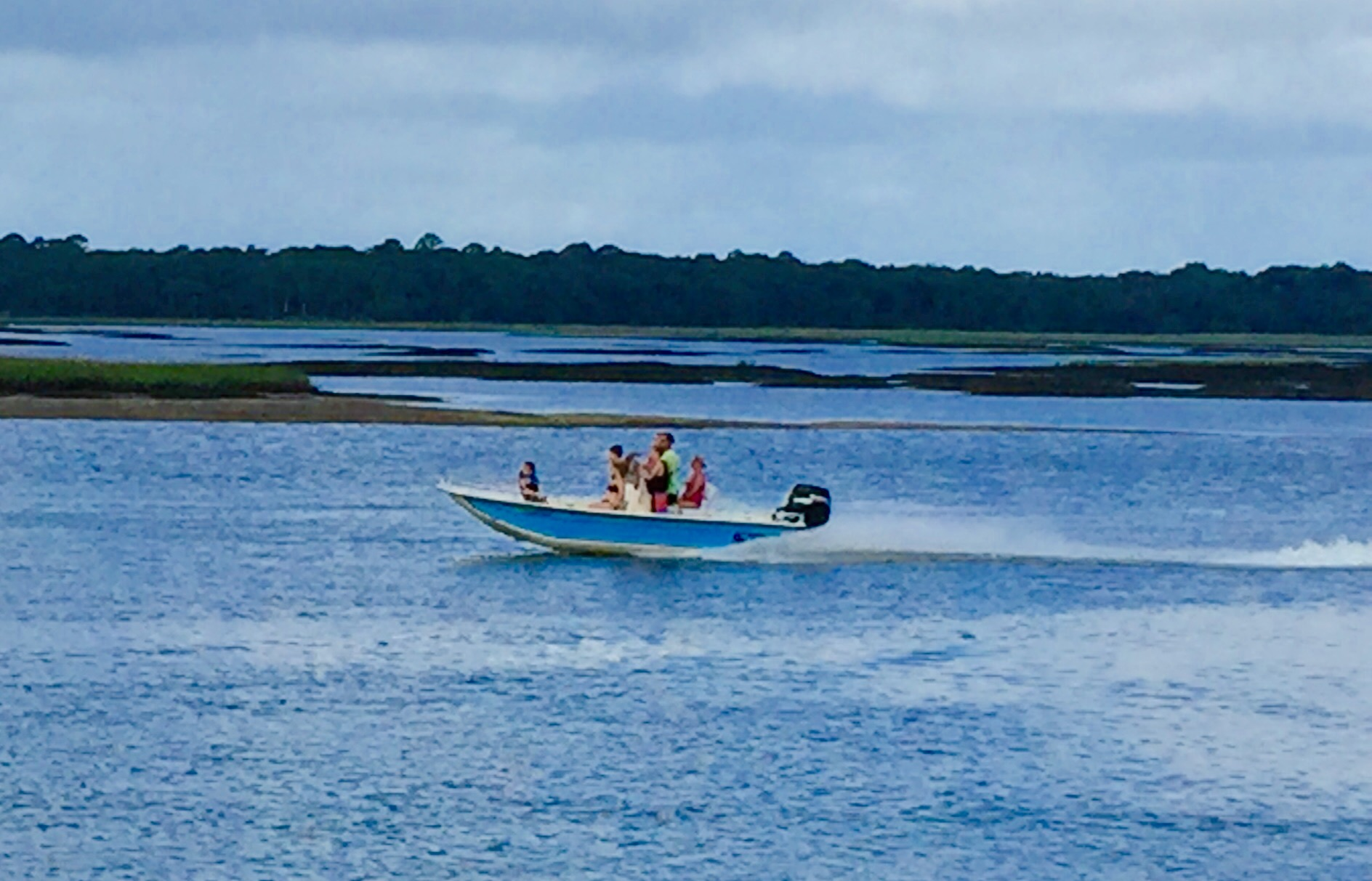 BOATING AT Crescent Beach, Florida