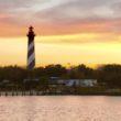 St. Augustine Lighthouse at St. Augustine Beach Florida