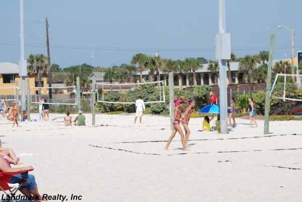 St. Augustine Beach Volleyball