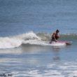 Surfing at St Augustine Beach