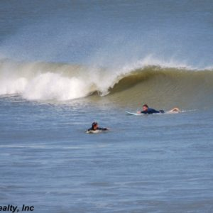 Crescent Beach Surfing