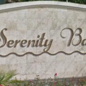Serenity Bay Sign