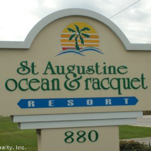 St. Augustine Ocean and Racquet Club Condominium