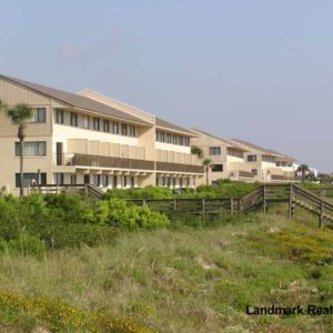 Oceanfront building at Summerhouse condo