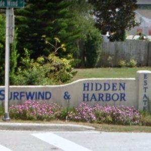 SURFWIND sign