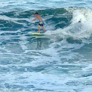 St. Augustine Beach Surfing